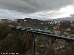 Invio Navetta via Ponte nelle Alpi (Di Trani Roberto) Tags: invio belluno treviso centrale via ponte nelle alpi conegliano d445 1043 traina 1142 guasto per le officine di fs trenitalia sul torrende ardo