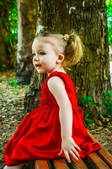 Kira (Yana Grieg) Tags: lovely cute prettycool smile portrait daughter lady dress red nikon kids kid children child littlegirl girl