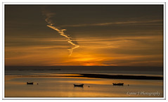 Golden Dawn ,Holy Island (Blondie606 Photography) Tags: bamburghcastle sunrise sunset northumberland beach sea steetlypier longexposure lighhouse newcastlequay pastel frosty golden boats chemicalbeach seaham hartlepool