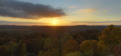 October sunset panorama at Hohenstein (Bernhard_Thum) Tags: bernhardthum thum hasselblad sunset hc3550 franken hohenstein elitephotography landscapesdreams
