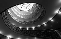Vatican Museum Stairway (Bradley N. Weber) Tags: vaticanmuseumstairway spiralstairway awesomestairway stairway stairs spiral vatican vaticanspiral vaticanmuseum