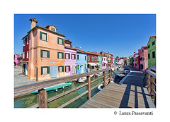 Burano island, Venice, Italy (laura passavanti) Tags: burano paint boat outdoor street travel italy view landmark venice building canal famous architecture color colorful house beautiful water town picturesque multicolor transport landscape island river old traditional colored tourist historic lagoon curtain bridge