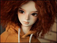 The ugly hoodie (Human Beans) Tags: bjd abjd customhouse aidolls hyun iplehouse nyid body readhead freckles hipster