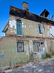 Ruins, Yorkville, OH (Robby Virus) Tags: yorkville ohio remain building abandoned collapsed