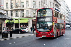 London Sovereign VH12 (cybertect) Tags: 13 bt13ywk canonfd55mmf12aspherical haymarket london londonsw1 londonsovereign londonbus sw1 sonya7 vh12 volvob5lh wrighteclipsegemini2 wrighteclipsegeminiii bus doubledecker route13