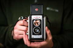 Twin Lens Reflex (Evan's Life Through The Lens) Tags: camera sony a7rii lens glass 50mm f18 fe af friends adventure fun travel drive explore day light bright beautiful vibrant blue orange red amazing