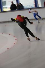 A37W0429 (rieshug 1) Tags: speedskating schaatsen eisschnelllauf skating nkjunioren knsb nkjuniorenallroundafstanden afstanden allround 50010001500massstart demeent alkmaar sportcomplexdemeent juniorenb ladies dames 3000m