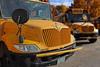 School Bus (Kris_wl) Tags: school bus schoolbus yellow tranportation student truch truck grill ic icbus mirror reflection