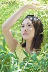 Girl @ Green (SU QING YUAN) Tags: 135za sonnart18135 sony zeiss a99 girl beauty beautiful green light spring face hair eye cute young pretty portrait taiwan taipei female
