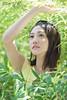初綠の女 Girl @ Green (SU QING YUAN) Tags: 135za sonnart18135 sony zeiss a99 girl beauty beautiful green light spring face hair eye cute young pretty portrait taiwan taipei female
