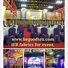 Inherent flame fire retardant fabrics for event, wedding,expo and theatre (begoodfrtex) Tags: flikr