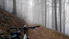 auf den Wintertrails (twinni) Tags: mw1504 04122016 bike biketour mtb heuberg salzburg austria österreich winter schnee winterbike bergziege winterradl 20 hardtail garmin oregon 700
