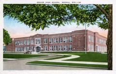 P-60-S-137 (neenahhistoricalsociety) Tags: neenahhighschool highschool shattuck schools