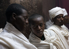 The strangers  are here (Ana Rivas Cano) Tags: lalibela ethiopia etiopa worshippers worship faithful ethiopien creyente ortodox christian christianity cristiano ortodoxo