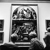 Musei Vaticani (imanol6x6) Tags: rolleiflex trl f28 6x6 120 500x500 mediumformat mf trix 400 kodak film hc110 bw blackandwhite nophotoshop street portrait architecture roma vaticano