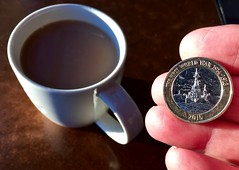 The fleet 222-365 (10) (♔ Georgie R) Tags: starbucks tea coin crawley sussex battleship