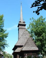 Husztsófalva fatemploma (ossian71) Tags: ukrajna ukraine kárpátalja husztsófalva kárpátok carpathians templom church fatemplom wooden középkori medieval épület building műemlék sightseeing