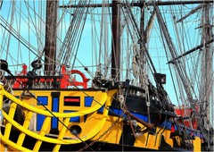 DJ 473 (cadayf) Tags: 35 bretagne britanny port harbour voilier sailingboat etoileduroy frgate tallship