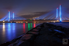 Indian River Inlet Bridge (Charles W. Cullen Bridge) (Cary Liao) Tags: bethanybeach charleswcullenbridge delaware indianriverinletbridge places rehobothbeach sussexcounty
