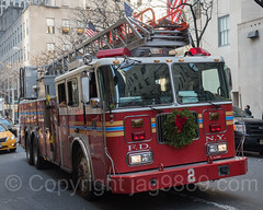 "FDNY ""Midtown Hi-Rise"" Ladder 2, Midtown Manhattan, New York City (jag9889) Tags: jag9889 usa seagrave wreath manhattan midtown thinblueline e008l newyorkcity newyork fdny 2016 20161128 ladder outdoor apparatus blueline bravest firedepartment firedepartmentofthecityofnewyork firefighter firstresponder hook justice ladder2 laddertruck midtownhirise ny nyc nypd newyorkcityfiredepartment newyorksbravest police policeforce support truck unitedstates unitedstatesofamerica vehicle us"