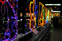 Day 334/366 : Illuminations (hidesax) Tags: 344366 illuminations local school kids ageo station saitama japan night nightscape hidesax leica x vario 366project2016 366project 365project
