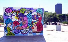 Aiko Alchemy (Mr Baggins) Tags: newtown graffiti streetart jozi johannesburg sonynex6 ladyaiko