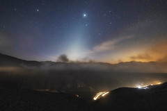 Juipter and the Zodiacal Light (Waheed Akhtar Photography) Tags: zodiacal light zodiacallight night photography jaismountain jais jebeljais mountain landscape nature naturephotography natureaddict stars jupiter atthetop clouds mist fog longexposure longexposurephotography longexposures canon travel waheedakhtar ngc nationalgeographic