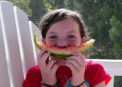 watermelon smile (popofatticus) Tags: watermelon photoblog reba pawleys