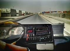 Driving in the Deep South (RUKnight) Tags: afghanistan bus deployment kandahar deepsouth kaf 222v2f