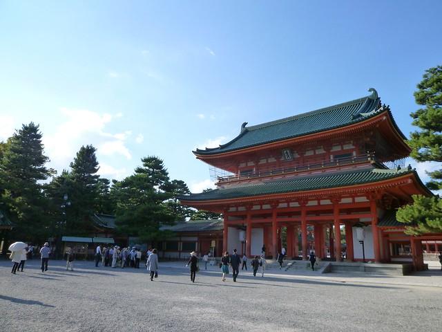 平安神宮へ|平安神宮