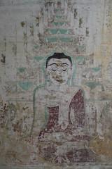 Sulamani Pahto (10b travelling) Tags: brick art temple mural asia asien southeastasia buddha burma myanmar asie southeast birma fresco templo bagan indochine tempel birmanie sulamani 2011 pahto minnanthu  sulamanipahto iptcbasic