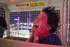 My face (roboppy) Tags: brooklyn coneyisland amusementpark robyn denoswonderwheelamusementpark