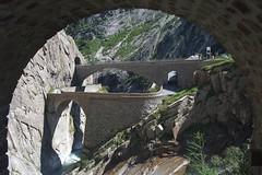 Schöllenen - Teufelsbrücke (Kecko) Tags: 2013 kecko switzerland swiss schweiz suisse svizzera innerschweiz zentralschweiz uri gotthard andermatt schöllenen teufelsbrücke brücke bridge teufelswand swissphoto geo:lat=4664700936759024 geo:lon=8589237928390503 geotagged
