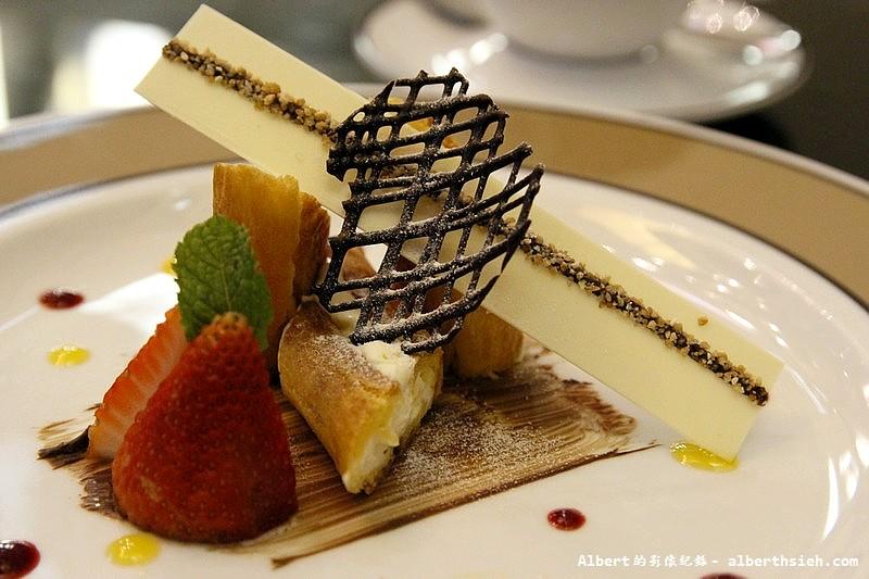 【法式異國料理】台北大安.松露之家:餐後甜點:泡芙