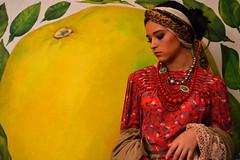 3 (mariainesmvs) Tags: red portrait orange design guatemala styling fahion