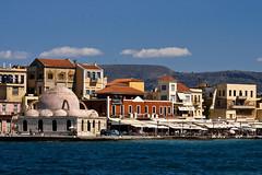 Chania-old-harbour-2011_01 (Jan Thomas Landgren) Tags: travel vacation holiday harbour sony kreta greece crete semester resa resor chania oldharbour grekland sonyalphaa200
