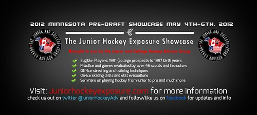 The Junior College hockey exposure showcase 2012 Information