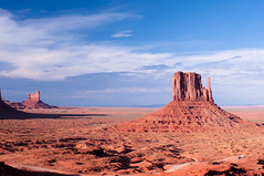 Monument Valley, Utah (Leonid Yaitskiy) Tags: park red sky usa monument rock clouds america utah us nikon desert indian united erosion national valley indians states reservation leonid d90 yaitskiy