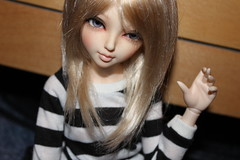 Mischa in Black...And White (Cube_BJD) Tags: mischa fairyland 08 juri