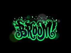 Broom (Filip Komorowski) Tags: sexy logo typography sweet space smooth style type filip kool logotype komorowski typografia literki filipkomorowski vision:night=0951 vision:text=0541