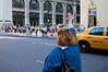 Hailing a Taxi. (ricobaumann) Tags: nyc newyork hand manhattan cab taxi 5thavenue getty hailing
