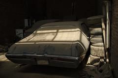(kamshots) Tags: old cars car yard buick junk iran tehran scrap streetshot