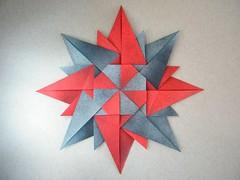 Rosa Dei Venti (Compass Rose) - Paolo Bascetta (Rui.Roda) Tags: rose origami paolo rosa papiroflexia compass dei venti bascetta