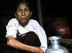 MYANMAR (BoazImages) Tags: woman face tattoo asian asia faces culture documentary tribal myanmar southeast tribe chin tattooed indigenoush