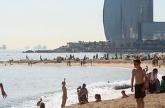 IMG_6812_stitch1 (Triin Olvet) Tags: barcelona beach spain catalonia barceloneta catalunya hispaania kataloonia