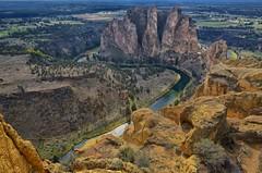 Earth's Castle (Phil's Pixels) Tags: oregon explore geology smithrock hikes crookedriver terrebonne miserytrail