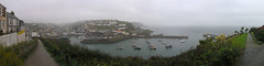 Misty Mevagissey panorama (jonathan charles photo) Tags: panorama art topf25 misty landscape photo cornwall jonathan charles mevagissey jonathancharles