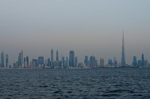Dubai Skyline - First lights ©  Still ePsiLoN