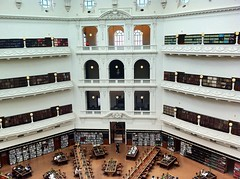 Reading Room (yewenyi) Tags: white library australia melbourne victoria balconies cbd thedome statelibraryofvictoria latrobereadingroom uploaded:by=flickrmobile flickriosapp:filter=nofilter