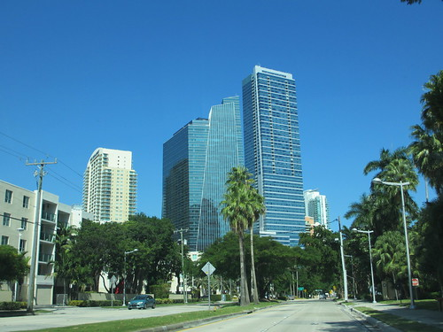 South end of Brickell, Miami, Florida